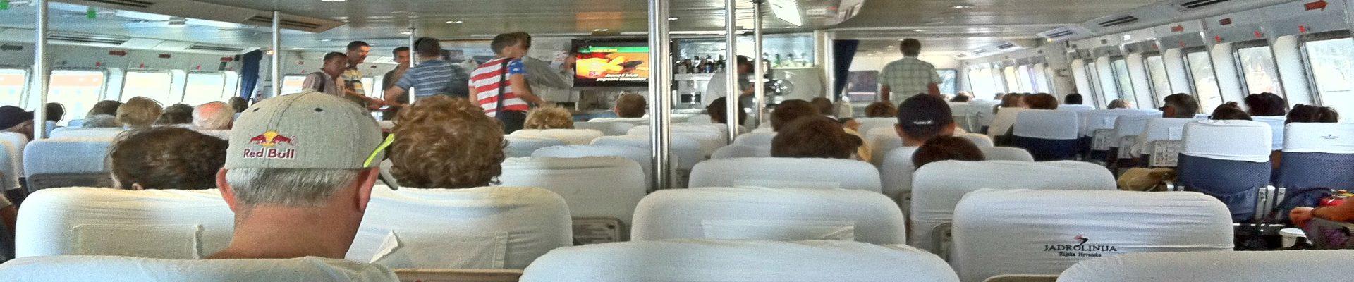 Hvar Town Catamaran Ferry