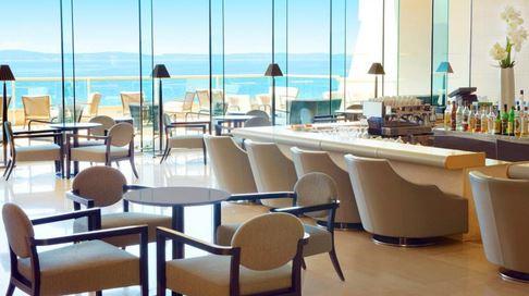 Champagne bar, Le Meridien Lav, Podstrana Bay, Split Riviera 3