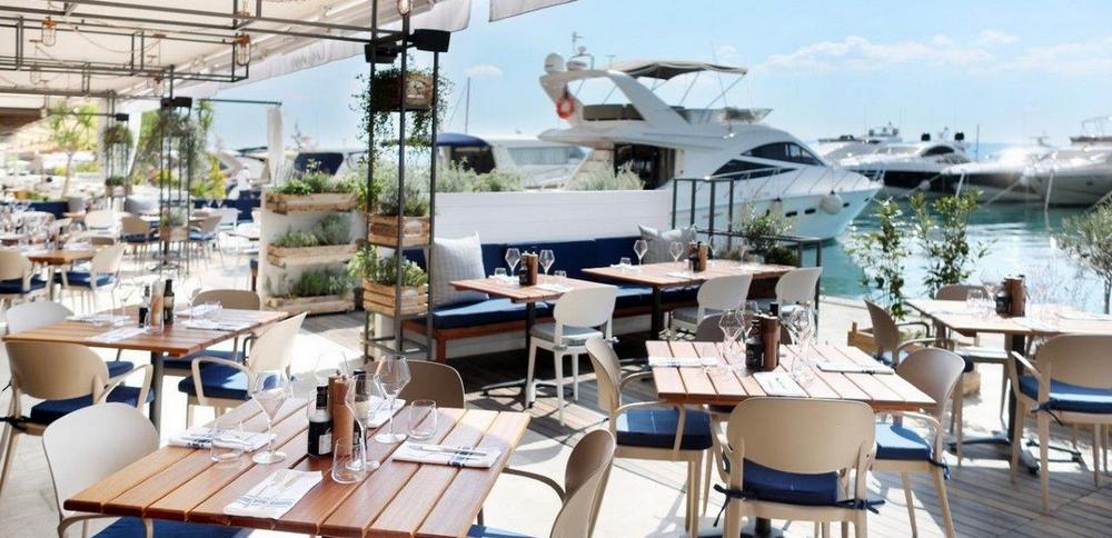 Le Meridien Lav ,Conlemani Restaurant , Podstrana Bay, Split Riviera