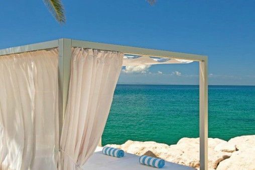 Luxury Cabanas on the beach Le Meridien Lav Podstrana Bay Split Riviera TH