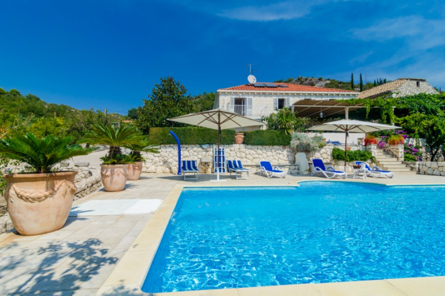 Villa Zeki Orasac bay Dubrovnik Riviera 1 A
