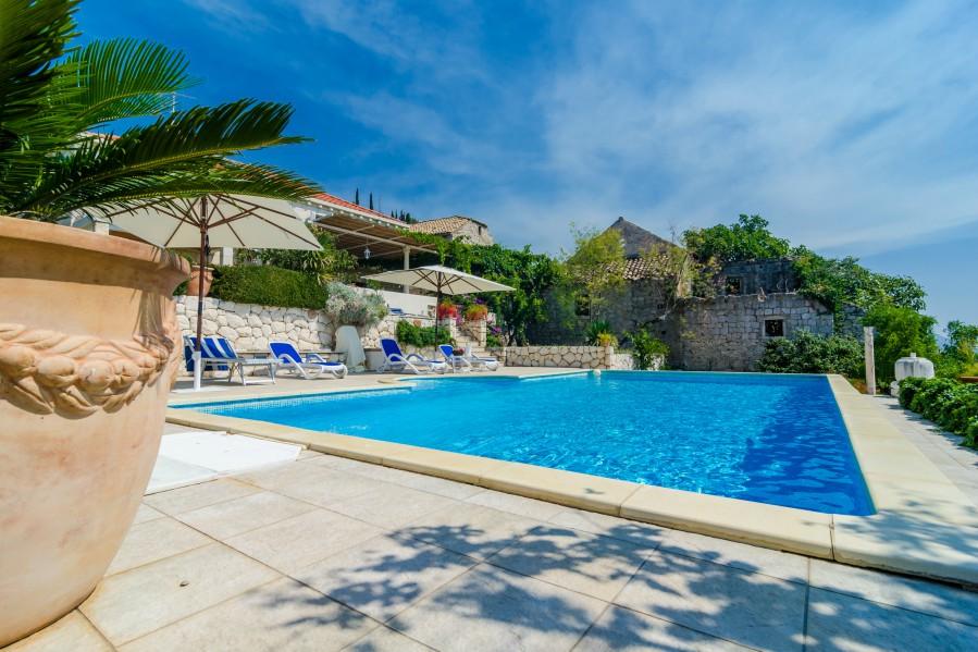 Villa Zeki Orasac bay Dubrovnik Riviera (2) A