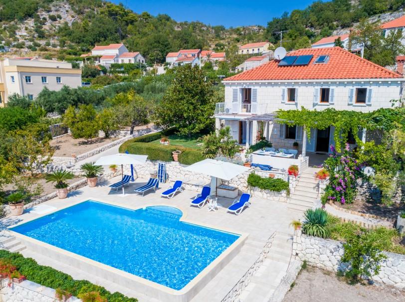 Villa Zeki Orasac bay Dubrovnik Riviera (5) A