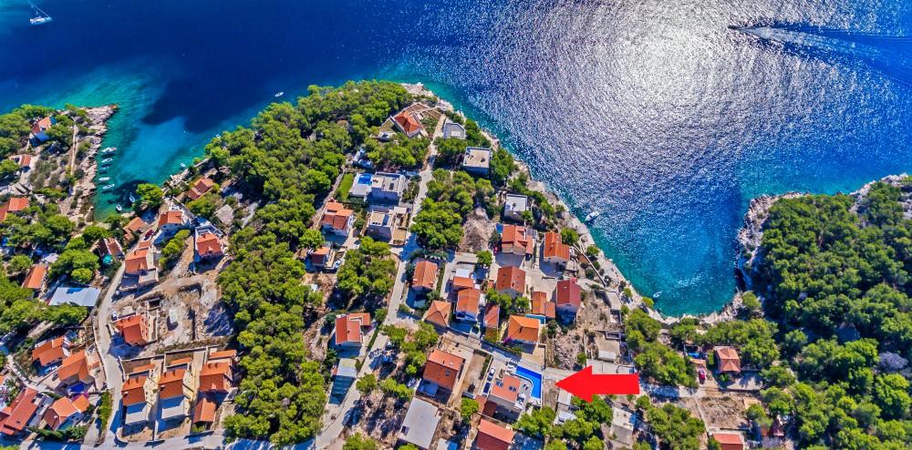 Villa Bianca near Milna Bay Brac Island (5) a