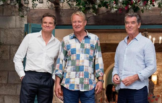 Firth, Skarsgard and Brosnan return - photo UNIVERSAL PICTURES