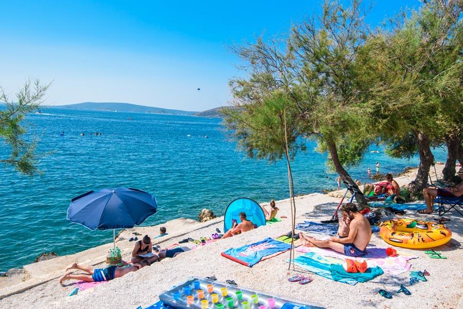 Belvedere Beach, Seget Vranjica Bay, Split (7)