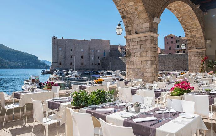 Restaurant Gradska Kavana Arsenal, Dubrovnik Old town 2