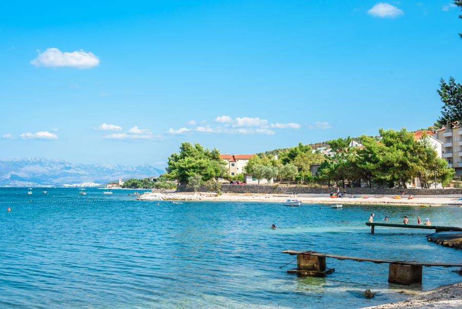 Arbanija Beach, Arbanija, Split (9)