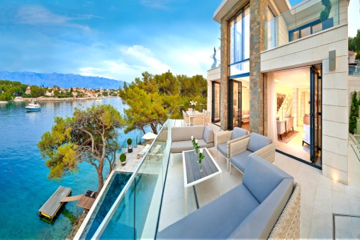 CONTEMPORARY VILLAS - Villa Oceana Sumartin Brac Island Split Riviera Croatia TH