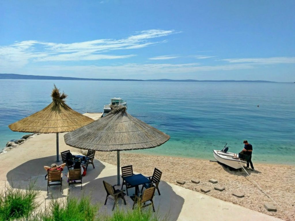 Podstrana beach,Podsrtana Bay, Split Riviera OWNER D