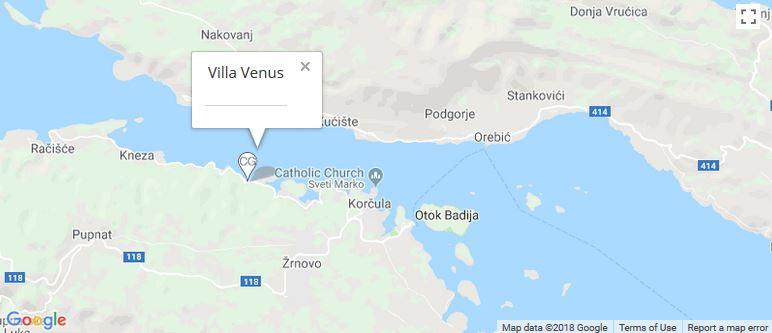 Map Of Venus on