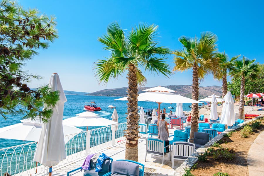 Belvedere Beach, Seget Vranjica Bay, Split (1)