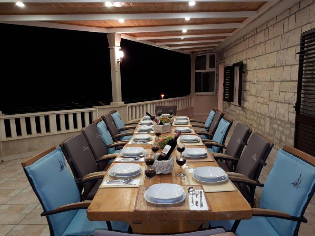 Villa Tania, Sumartin Bay, Brac Island (2)