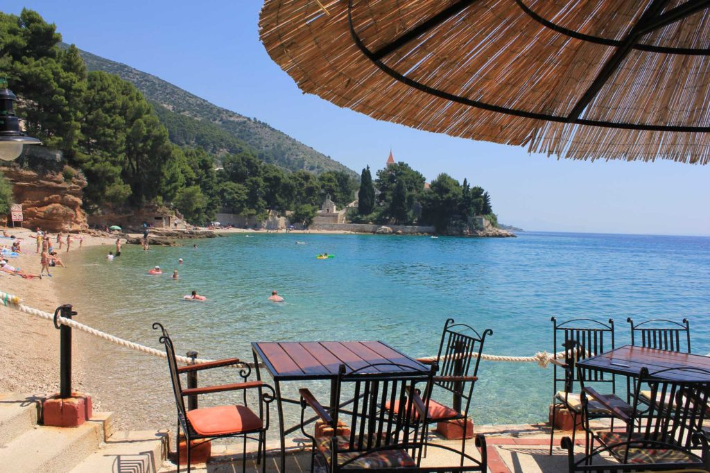 Ribarska Kucica Restaurant and Beach Bar, Monestary Beach, Bol Town, Brac Island (337)