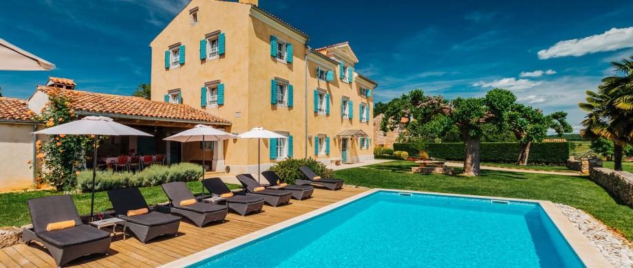 Villa Donatela, near Novigrad, Istria (2)