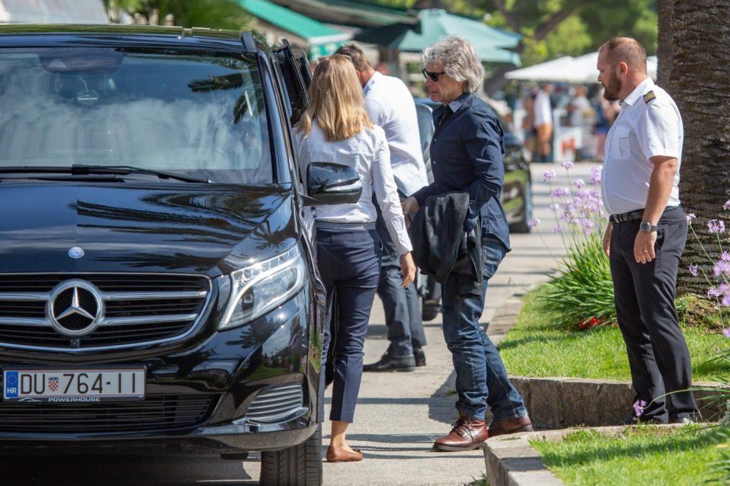 Jon Bon Jovis family arrive in Croatia on holiday Photo: Grgo Jelavic/PIXSELL