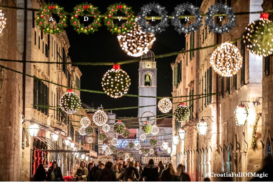 Christmas in Dubrovnik - Photo Croatian Tourist Board
