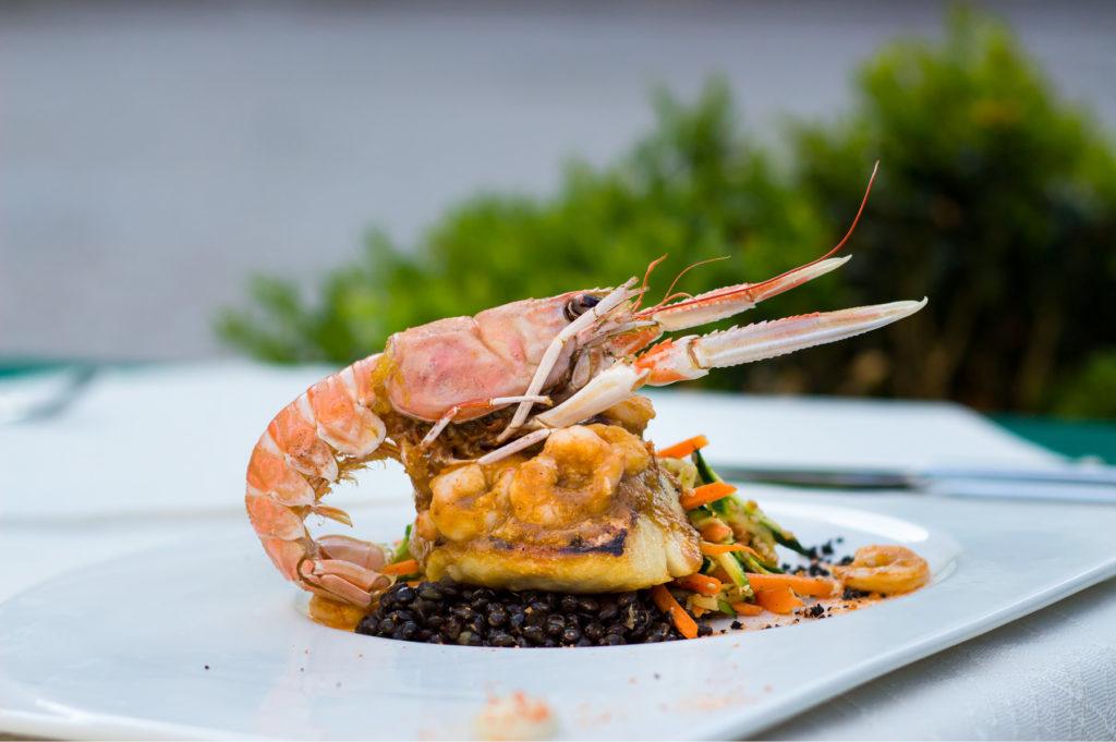 Food at Restaurant Kopun, Dubrovnik Old Town (2)