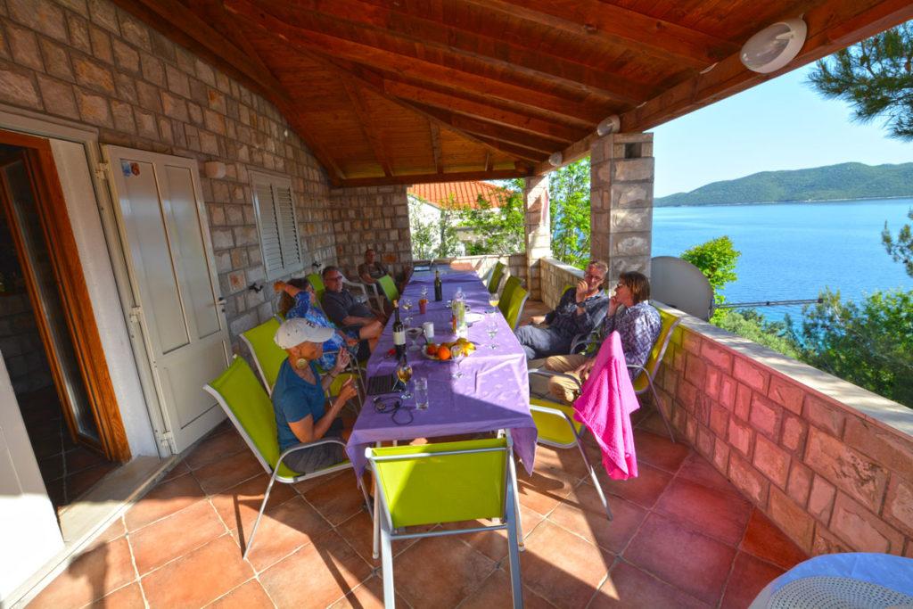Villa Slano, Slano Bay, Dubrovnik Riviera - terrace 2