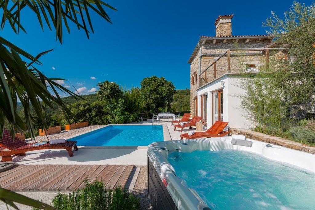 Villa Silvana, Near Rabac, Istria (3)
