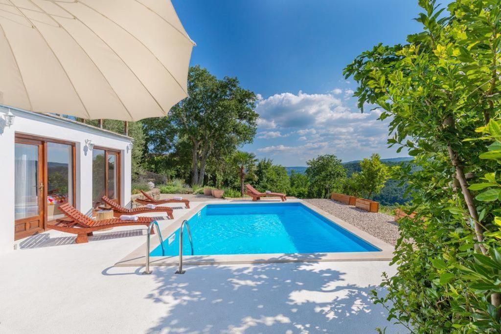 Villa Silvana, Near Rabac, Istria (9)
