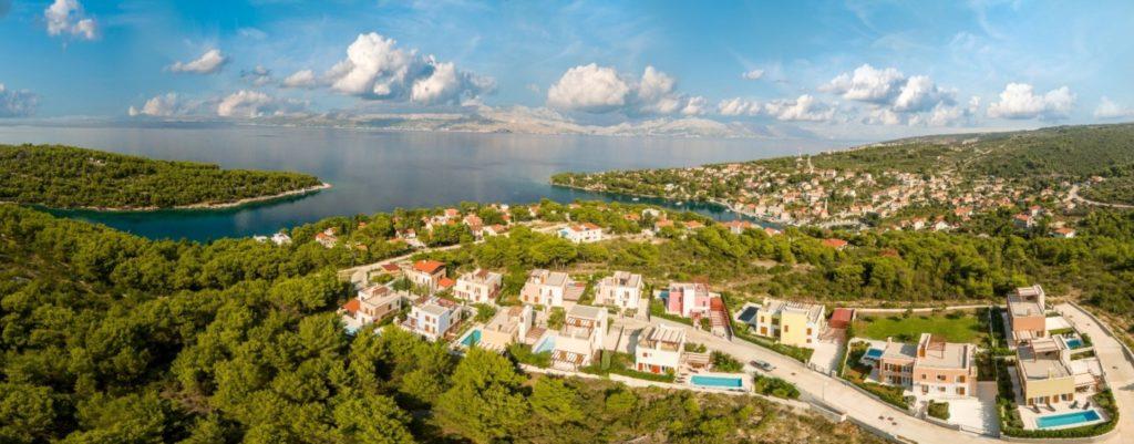 Splitska Villas, Splitska Bay, Brac Island 2