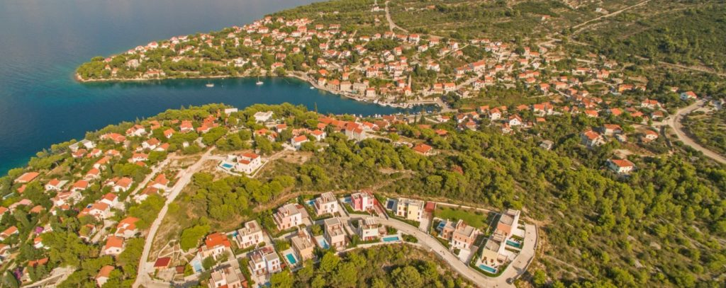 Splitska Villas, Splitska Bay, Brac Island