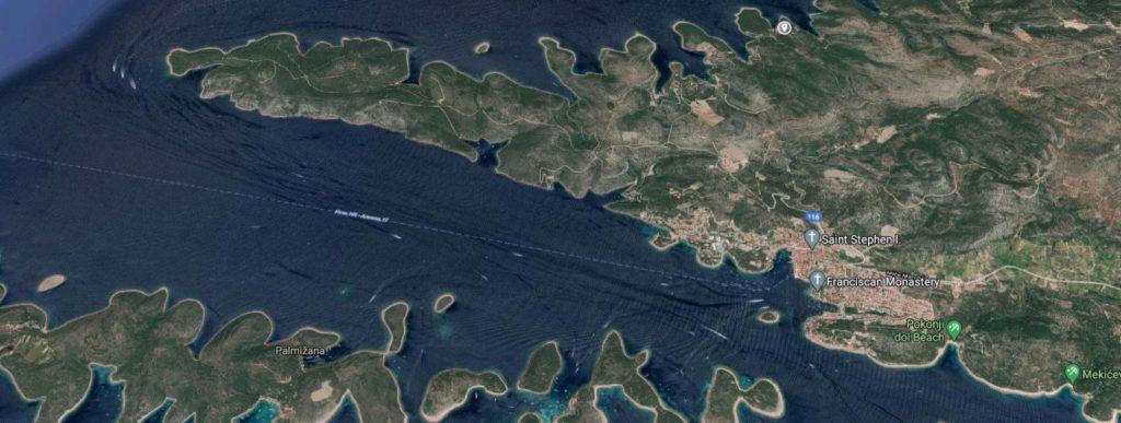 Villa Ana Jagodna Hvar (Location Zoom 3)
