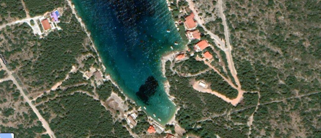 Villa Ana Jagodna Hvar (Location zoom)